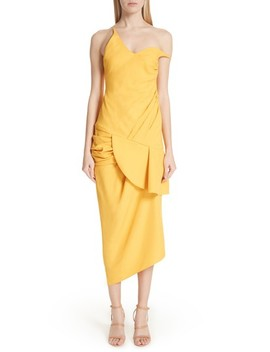 Sol Off The Shoulder Midi Dress by Jacquemus