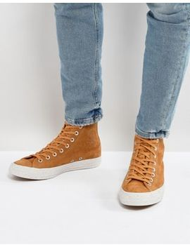 Converse Chuck Taylor All Star Hi Sneakers In Tan 157522 C by Converse