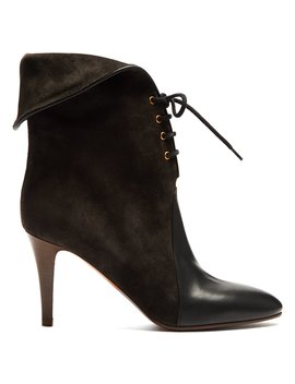 Kole Suede Ankle Boots by Chloé