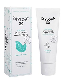 Taylor's 32 Natural Whitening Toothpaste, Classic Mint by Taylor's 32