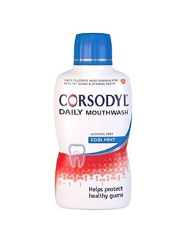 Corsodyl Daily Gum Care Mouthwash With Fluoride, 500 Ml, Cool Mint by Corsodyl
