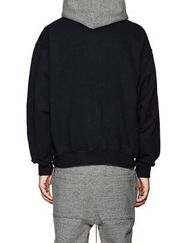 Colorblocked Cotton Oversized Hoodie by Fear Of God
