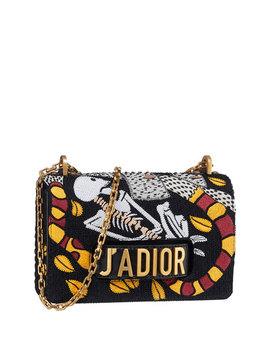 "J'adior ""Death"" Embroidered Motherpeace Tarot Handbag by Dior"