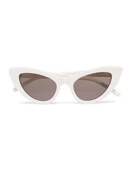New Wave Lily Sonnenbrille Mit Cat Eye Rahmen Aus Azetat by Saint Laurent