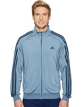 Adidas Men's Essentials 3 Stripe Tricot Track Jacket by Adidas
