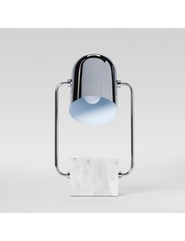 Marble Accent Lamp Silver   Project 62™ by Project 62™