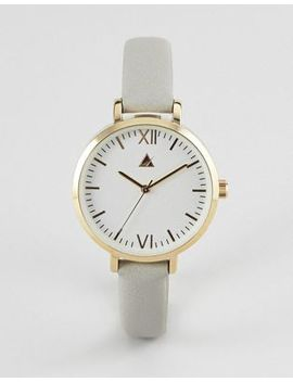 Asos Minimal Gold And Gray Watch by Asos Collection