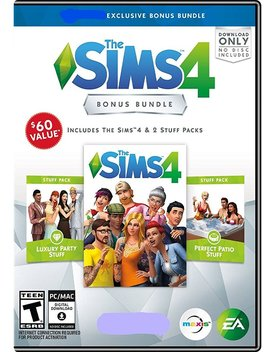 The Sims 4 Bonus Exclusive Bundle   Pc Game by Electronic Arts