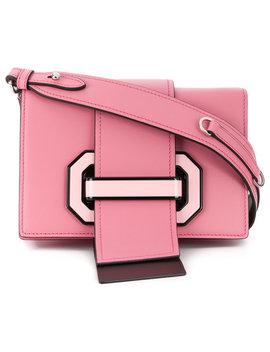 Strap Closure Shoulder Bag by Prada