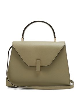 Iside Medium Grained Leather Bag by Valextra