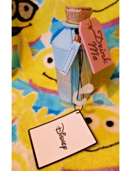 "Primark Disney Alice In Wonderland ""Drink Me"" Glittery Bottle Style Coin Purse by Primark"