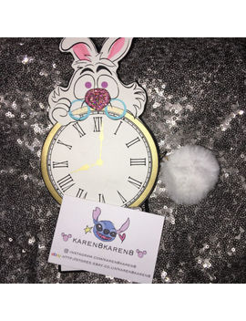 Disney Alice In Wonderland White Rabbit Clock Purse Primark by Primark