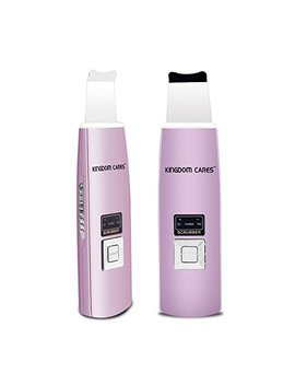 Kingdomcares Facial Skin Scrubber Gentle Peel Dermabrasion Rejuvenation Microdermabrasion Blackhead Removal Peeling Comedone Extractor Suction Remover Pore Cleanser Exfoliate Acne Renewal by Kingdom
