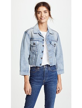 Lmc X Shopbop Cropped Bf Trucker Jacket by Levi's