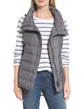 Stand Collar Vest by Eileen Fisher