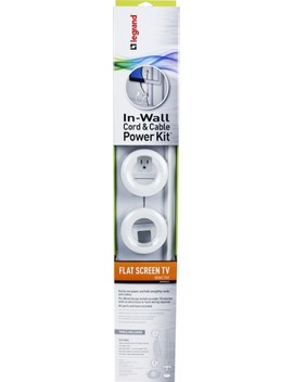 In Wall Power Kit   White by Legrand