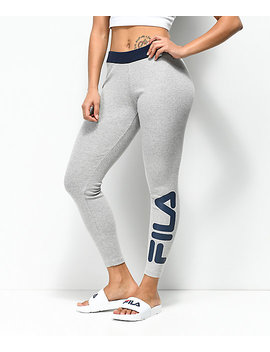 Fila Adele Light Grey Thermal Leggings by Fila