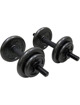 Gold's Gym Adjustable Cast Dumbbell Set, 40 Lbs by Walmart