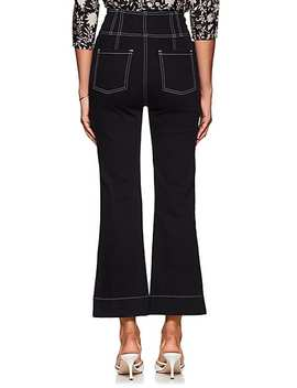 Ellis Crop Flared Jeans by Ulla Johnson