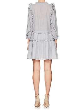 Essie Striped Cotton Voile Minidress by Ulla Johnson