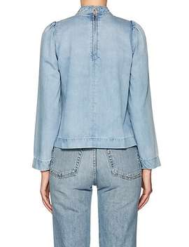 Wes Denim Blouse by Ulla Johnson