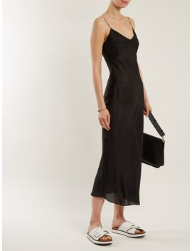 Sara Silk Slip Dress by Katharine Hamnett