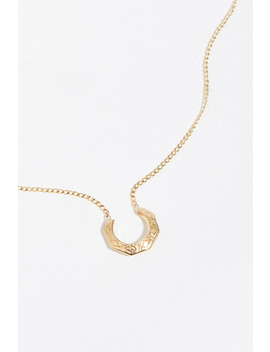 Hex Etched Necklace by Free People