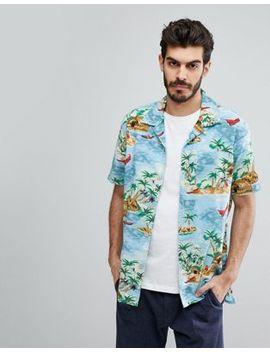 Levi's Shorts Sleeve Hawaiian Print Shirt by Levi's