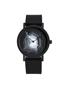 Terra Time Watch, Black By Projects Watches by Projects Watches