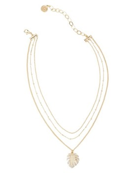 Charming Leaf Layered Choker Necklace by Lilly Pulitzer®