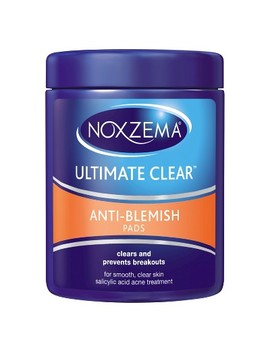 Noxzema Ultimate Clear Anti Blemish Pads 90 Ct by Noxzema