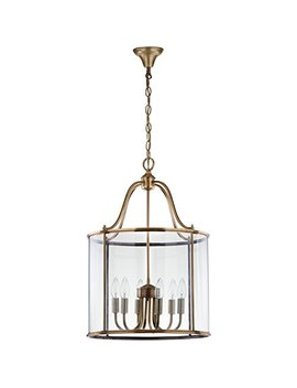 Safavieh Lighting Collection Sutton Brass 98.5 Inch Pendant Light by Safavieh