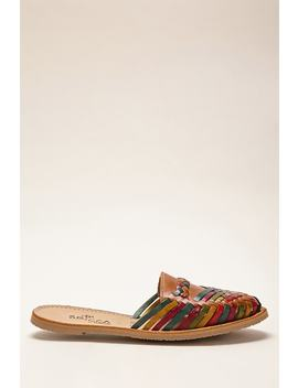 Sbicca Leather Huarache Mules by Forever 21