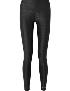 I Am Epic Stretch Jacquard Leggings by Bodyism