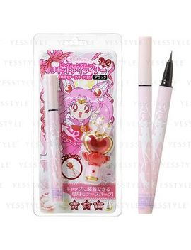 Sailor Moon Miracle Romance Pink Moon Stick Liquid Eyeliner (Black) by Creer Beaute