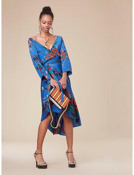 Eloise Asymmetric Mini Dress by Dvf