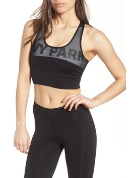 Mesh Panel Sports Bra by Ivy Park