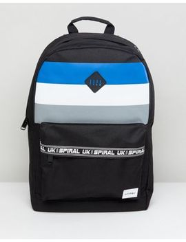 Spiral Sport Stripes Backpack by Spiral