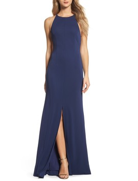 Victoria Sleeveless Gown by Maria Bianca Nero