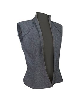 Rey Star Wars The Last Jedi Daisy Ridley Wool Vest by Mpassions
