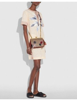 Kisslock Crossbody In Signature Patchwork by Coach