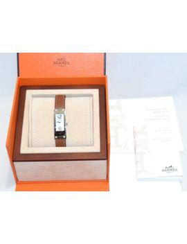 Hermes Kelly 2 Women's Wrist Watch 4 P Diamond Kt1.230 □Q Leather Band Bracelet by HermÈs