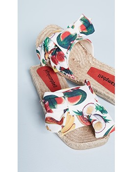 Print Fruit Slides by Jeffrey Campbell