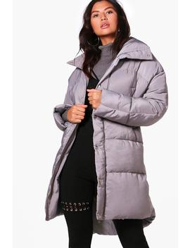 Faye Boutique Funnel Neck Padded Jacket by Boohoo
