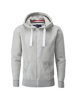 Charles Wilson Men's Midweight Cotton Blend Zip Slim Fit Hoody by Charles Wilson