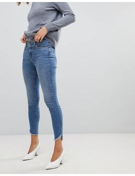 Vero Moda Skinny Jean With Raw Hem by Vero Moda