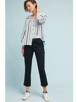 Utility Cropped Bootcut Pants by Anthropologie