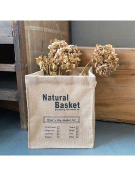 Linen Storage Basket by Cutie Bazaar