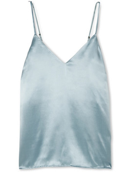 Gwyneth Silk Satin Camisole by Anine Bing