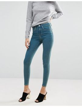 Asos 'sculpt Me' Premium Jean In Bergamot Wash by Asos Collection